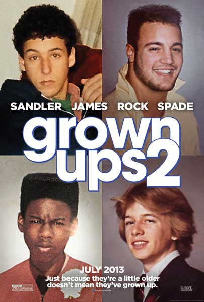 Grown Ups 2 (2013) - Movie Poster