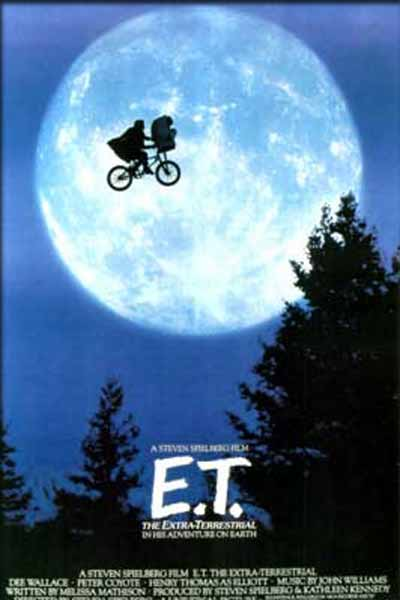 ET - The Extra Terrestrial - Movie Poster