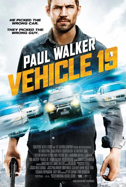 Vehicle 19 (2013)  - Movie Poster