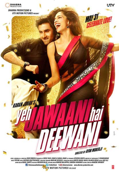 Yeh Jawaani Hai Deewani (2013)  - Movie Poster