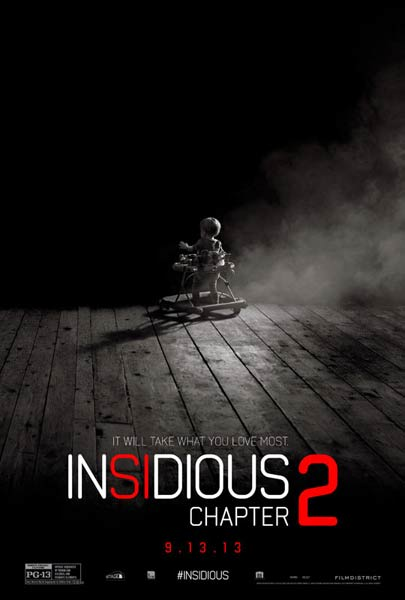 Insidious: Chapter 2 (2013) - Movie Poster