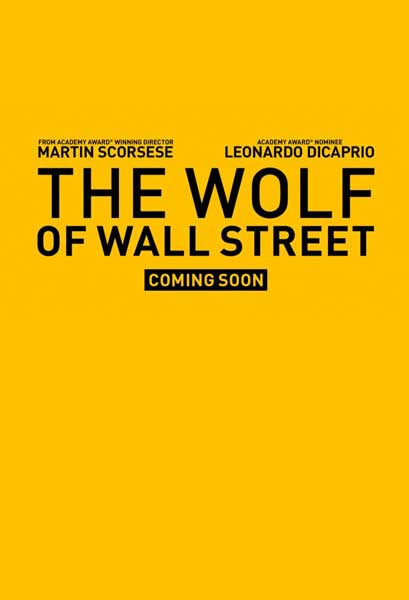The Wolf of Wall Street (2013)  - Movie Poster