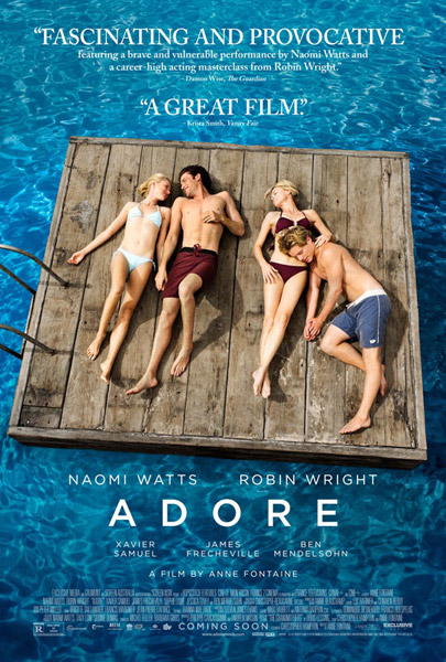 Adore (2013)  - Movie Poster