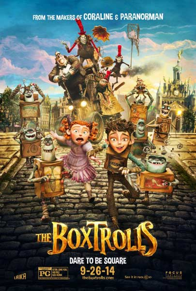 Boxtrolls, The (2014) - Movie Poster