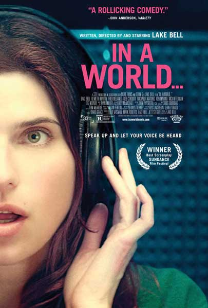 In a World... (2013)  - Movie Poster