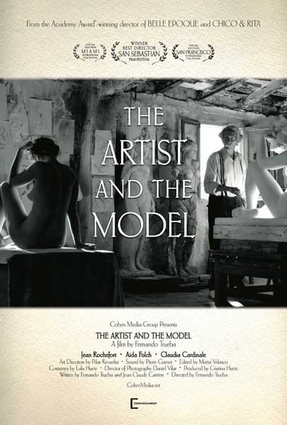 The Artist and the Model (2012)  - Movie Poster
