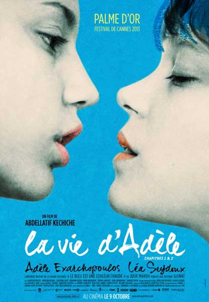 Blue Is the Warmest Color (2013) - Movie Poster