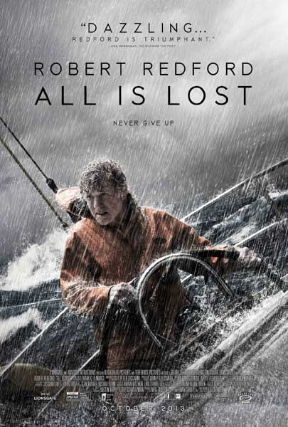 All Is Lost (2013)  - Movie Poster