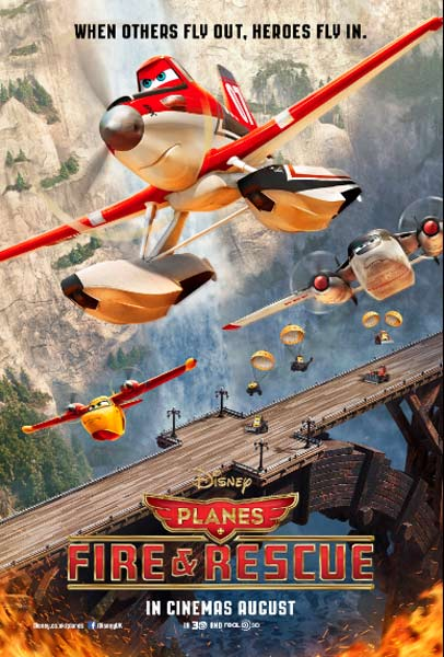 Planes: Fire & Rescue (2014)  - Movie Poster