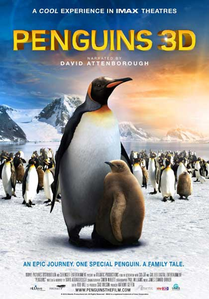 Adventures of the Penguin King (2012) - Movie Poster