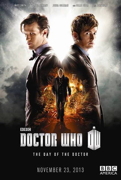 Doctor Who: Day Of The Doctor (2013) - Movie Poster