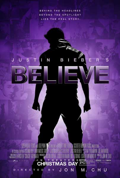 Justin Bieber\'s Believe (2013)  - Movie Poster