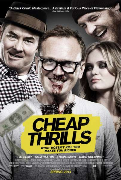 Cheap Thrills (2013)  - Movie Poster