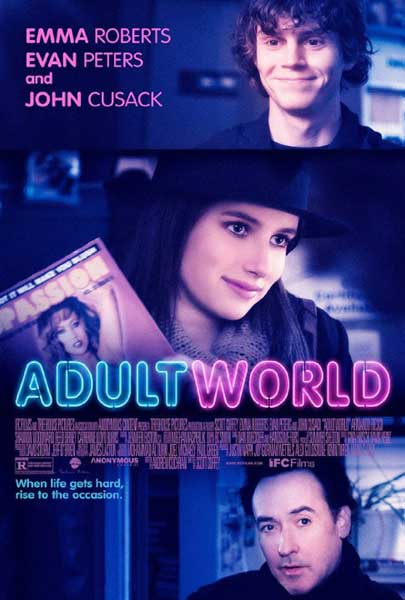 Adult World (2013)  - Movie Poster