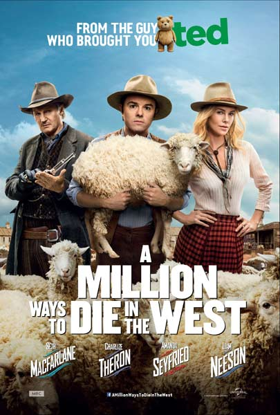 Million Ways to Die in the West, A (2014) - Movie Poster