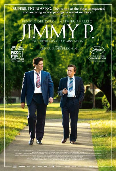 Jimmy P. (2013)  - Movie Poster