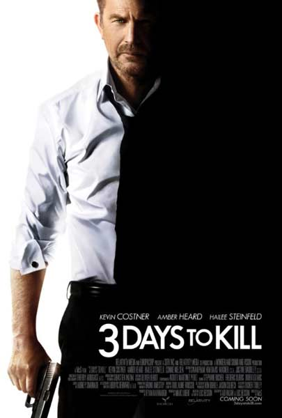 3 Days to Kill (2014)  - Movie Poster