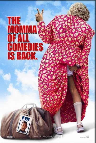 Big Momma's House (2000) - Movie Poster