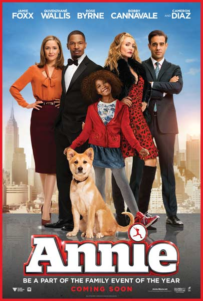 Annie (2014) - Movie Poster