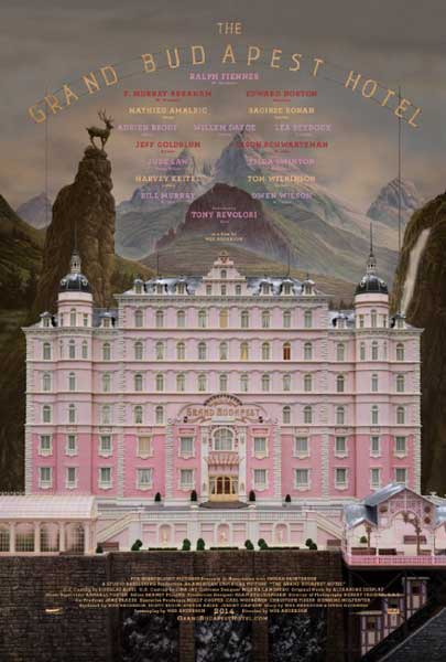 The Grand Budapest Hotel (2014)  - Movie Poster
