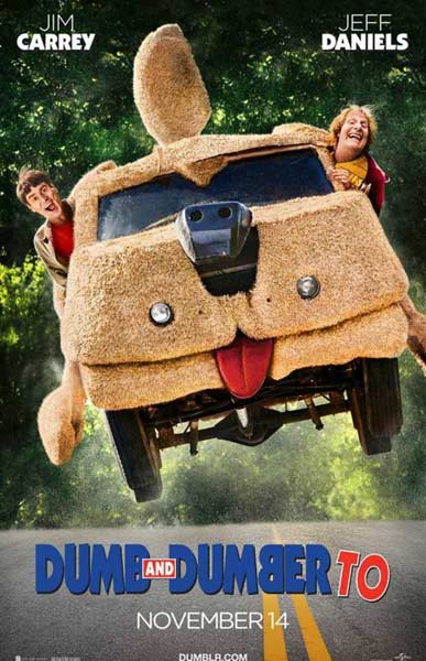 Dumb and Dumber To (2014) - Movie Poster