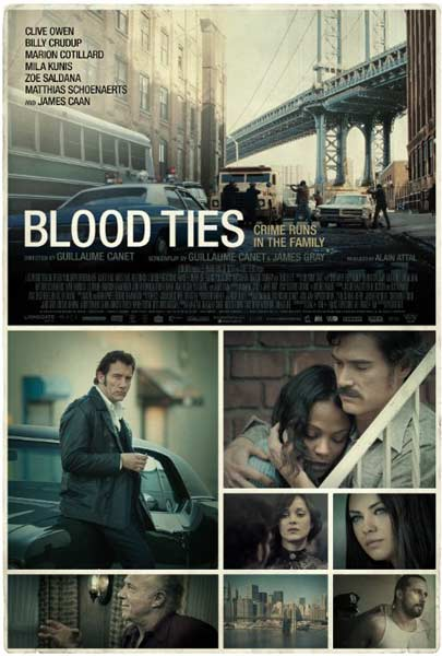 Blood Ties (2013)  - Movie Poster