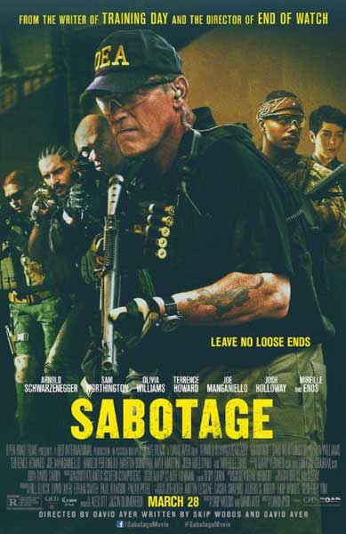 Sabotage (2014) - Movie Poster