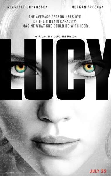 Lucy (2014) - Movie Poster