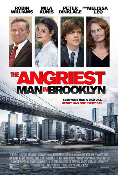 Angriest Man in Brooklyn, The (2014) - Movie Poster