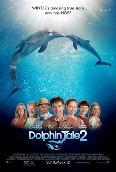 Dolphin Tale 2 (2014) - Movie Poster