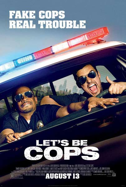 Let\'s Be Cops (2014) - Movie Poster
