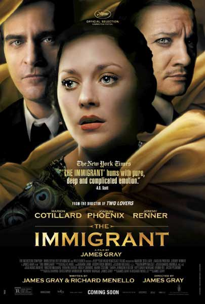 The Immigrant (2013)  - Movie Poster