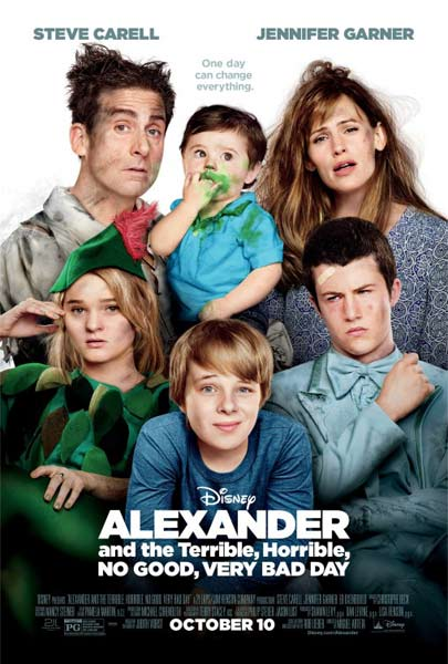 Alexander and the Terrible, Horrible, No Good, Very Bad Day (2014) - Movie Poster