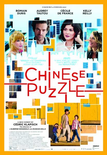 Chinese Puzzle (2013)  - Movie Poster