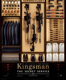Kingsman: The Secret Service (2014)  - Movie Poster