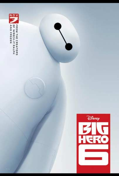 Big Hero 6 (2014) - Movie Poster