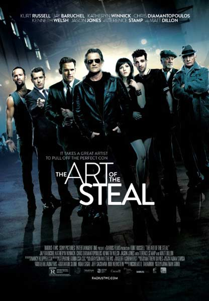 The Art of the Steal (2013)  - Movie Poster