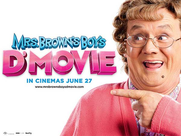 Mrs. Brown\'s Boys D\'Movie (2014)  - Movie Poster