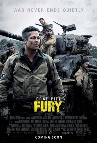 Fury (2014) - Movie Poster