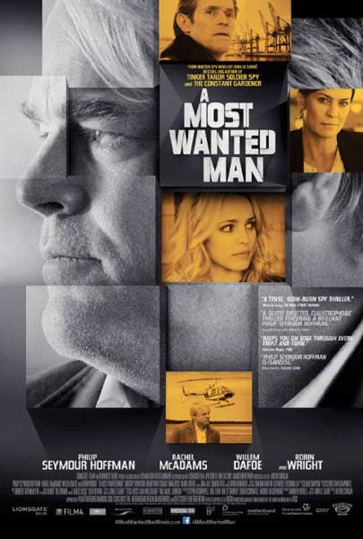 A Most Wanted Man (2014)  - Movie Poster
