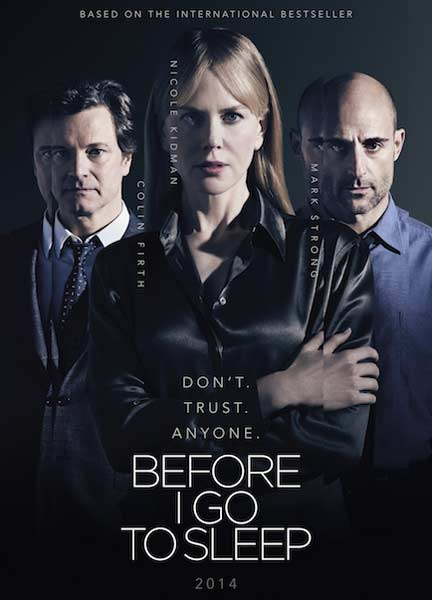 Before I Go to Sleep (2014)  - Movie Poster