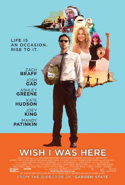 Wish I Was Here (2014)  - Movie Poster