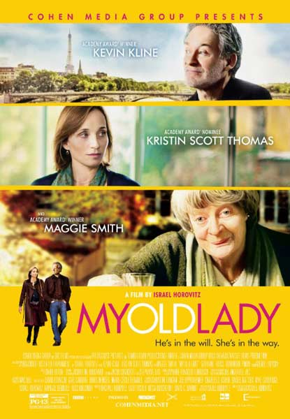 My Old Lady (2014)  - Movie Poster