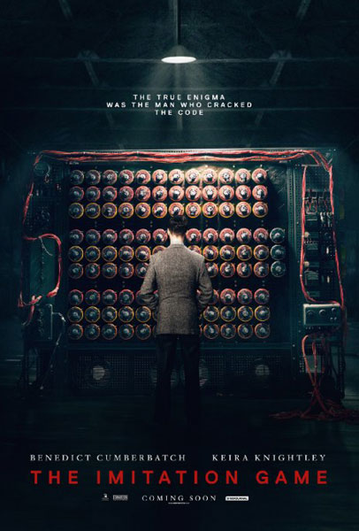 Imitation Game, The (2014) - Movie Poster