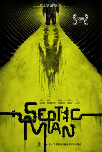 Septic Man (2013)  - Movie Poster