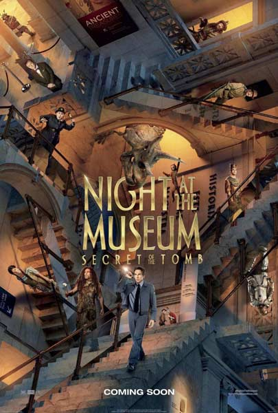 Night at the Museum: Secret of the Tomb (2014) - Movie Poster