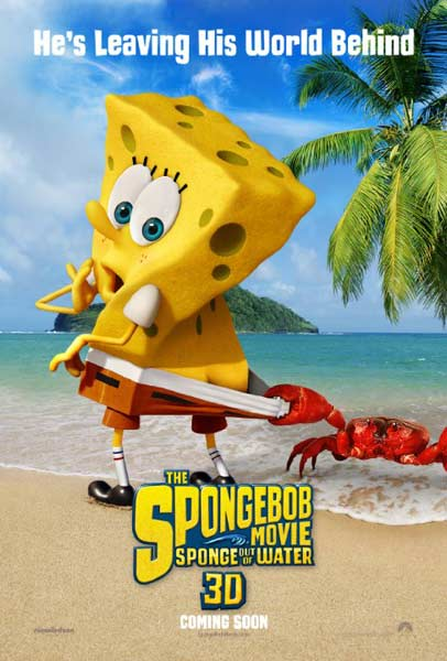 The SpongeBob Movie: Sponge Out of Water (2014)  - Movie Poster