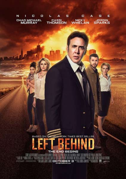 Left Behind (2014)  - Movie Poster