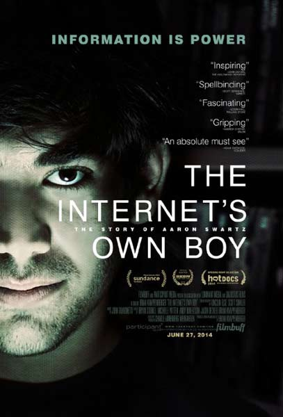 The Internet\'s Own Boy: The Story of Aaron Swartz (2014)  - Movie Poster