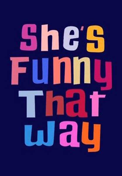 She\'s Funny That Way (2014) - Movie Poster